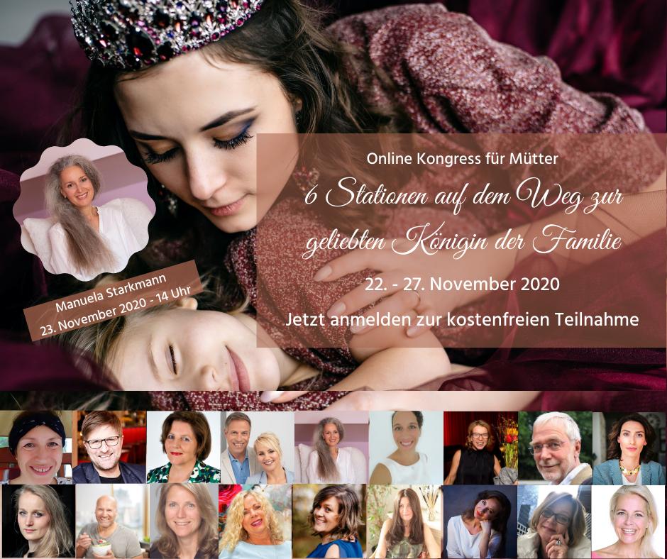 Mama die Königin - Online-Kongress - mit Manuela Starkmann