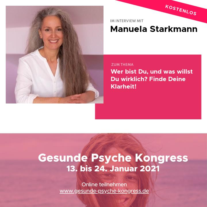 Manuela Starkmann - Gesunde Psyche Kongress 2020 - Finde Deine Klarheit