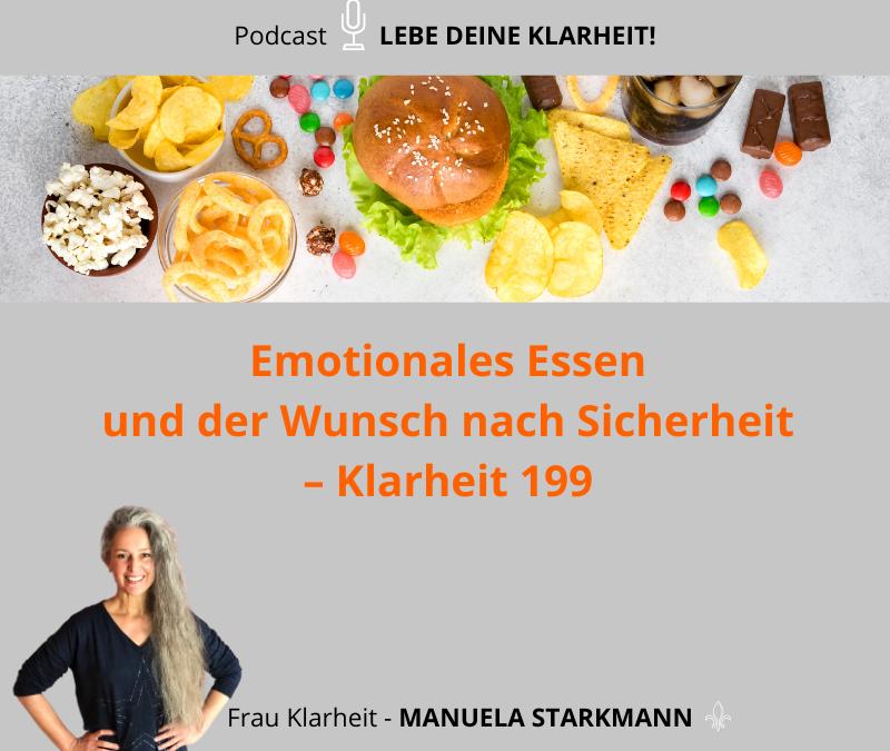 Emotionales Essen und der Wunsch nach Sicherheit – Klarheit 199