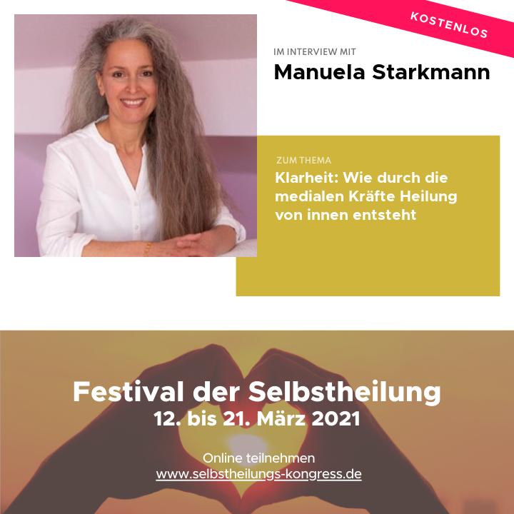 Festival der Selbstheilung - Manuela Starkmann - Interview