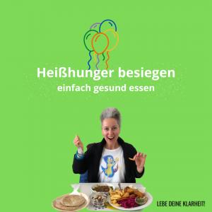 Heißhunger besiegen - einfach gesund essen - Webinar von Manuela Starkmann