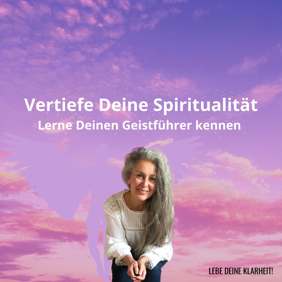 Vertiefe Deine Spiritualität - Webinar - Manuela Starkmann